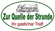 Zur Quelle der Strunde Logo
